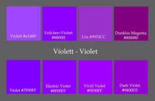 purple color chart shades of purple color chart car interior design