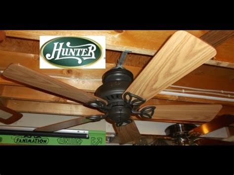 hunter beacon hill 42 ceiling fan hunter beacon hill ceiling fan youtube