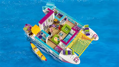 catamaran lego 41317 sunshine catamaran products lego 174 friends