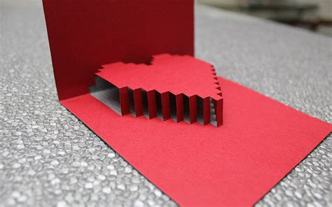 valentines cards templates 3d 3d s card free template