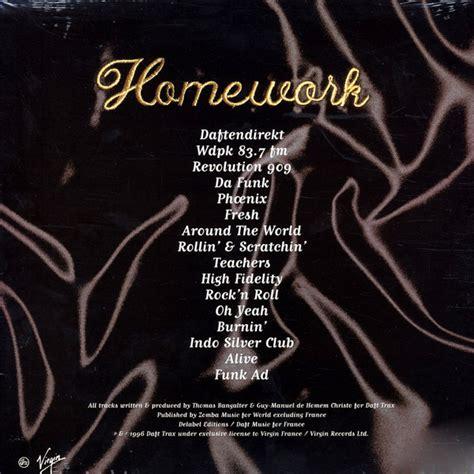 daft punk homework daft punk homework vinyl