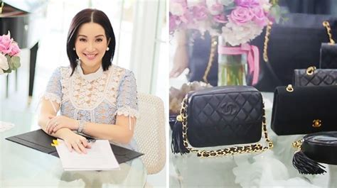 kris aquino kitchen collection kris aquino s vintage chanel bag collection cosmo ph
