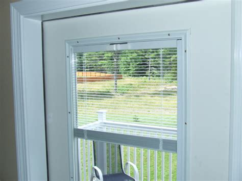 Exterior Door With Blinds Between Glass Homeofficedecoration Exterior Doors With Blinds Between