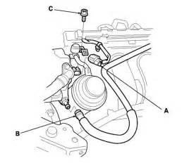 2003 honda crv engine light on code p0661 engine light