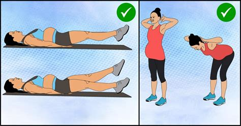 ab workouts after pregnancy dandk