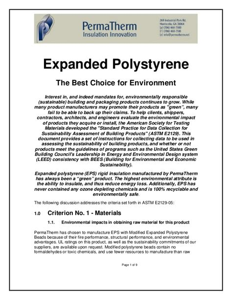 pattern allowances slideshare permatherm green expanded polystyrene