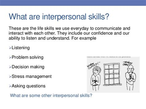 exles of interpersonal communication go