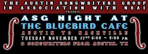 Bluebird Cafe Calendar Bluebird Cafe Competition 2011 Winners
