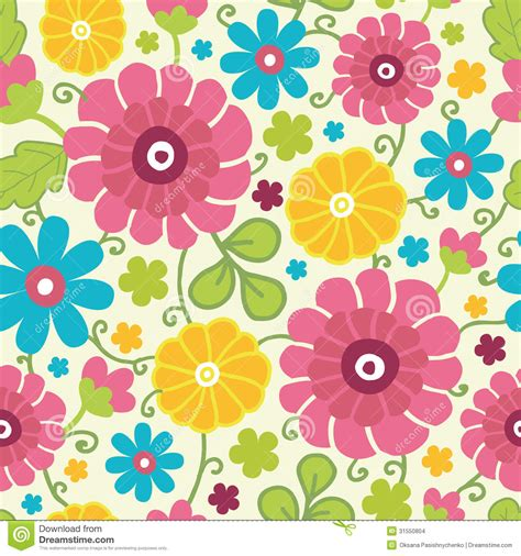 background vector pattern colorful colorful kimono flowers seamless pattern stock images