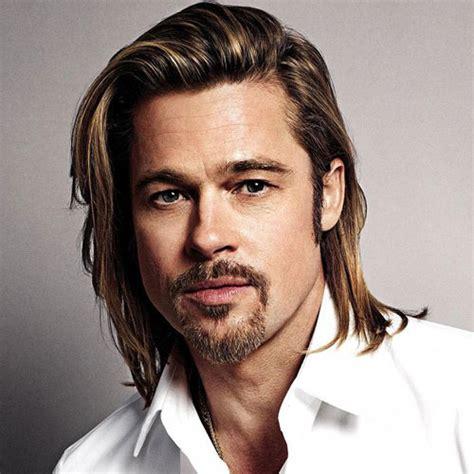 brad pitt natural hair brad pitt haircut men s haircuts hairstyles 2018