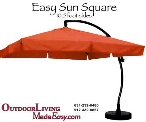 Sun Garden Umbrella by Sun Garden Square Cantilever Umbrella