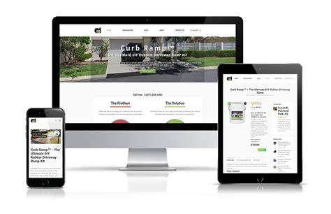 web design mock up sle curb r the ultimate diy driveway r kit web