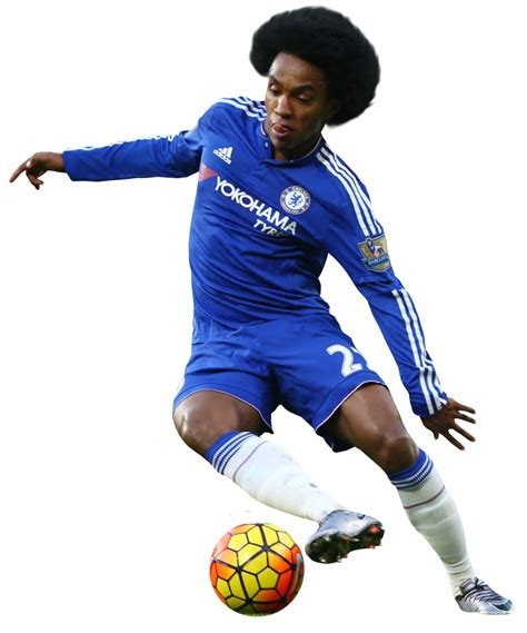 chelsea png willian football render 21153 footyrenders