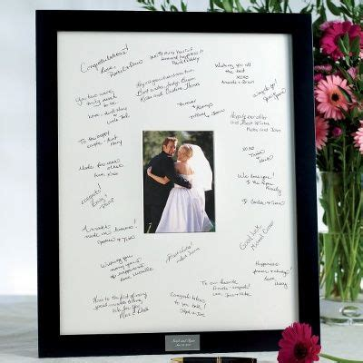 picture frame guest book ideas 11 best wedding anniversary ideas images on