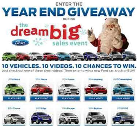 Ford Event Giveaway - www fordeventgiveaway com ford 2013 year end giveaway