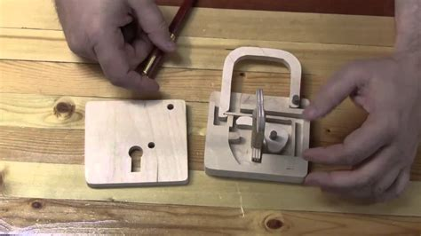 Work Shop Plans by Scroll Saw Padlock Youtube