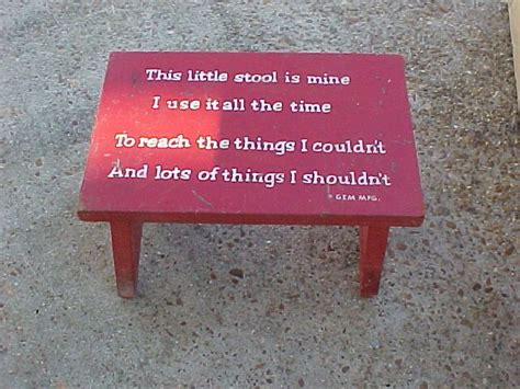 This Stool Is Mine by Details About Vintage Stool Child S Children S
