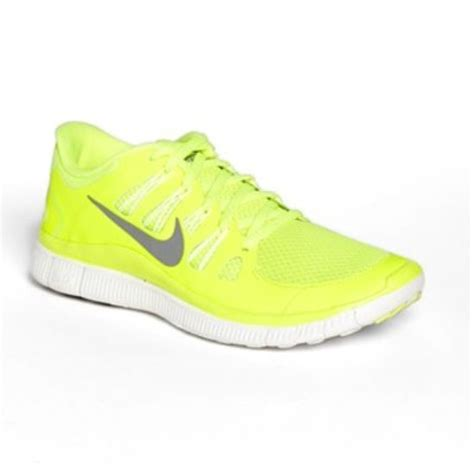 neon yellow nike running shoes neon yellow nike free 5 0 running shoe i i i i d work