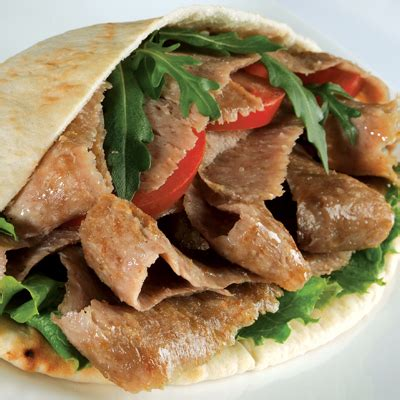 Turki Pita kebab in pitta bread flc
