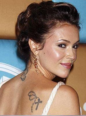 celebrities with cross tattoos