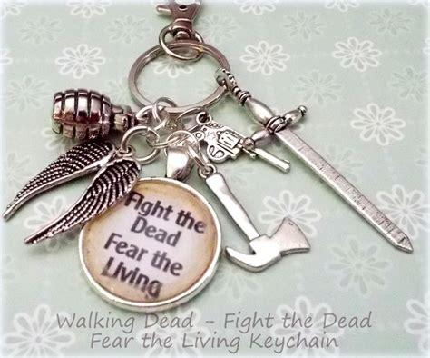 gifts for walking dead fans walking dead fan gift walking dead keychain the walking