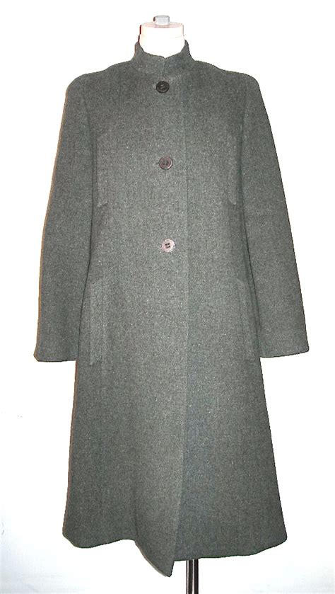 grey swing coat pauline trig 232 re a trig 200 re coat grey wool swing coat