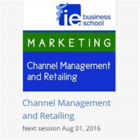 Ie Mba Review by Coursera Channel Management And Retailing Student
