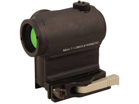 Micro Aimpoint T1 Low Black aimpoint micro t 1 tactical dot sight