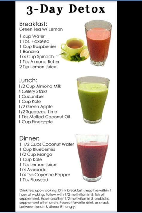 Detox Drinks Dont Work by 3 Day Detox Drinks Trusper