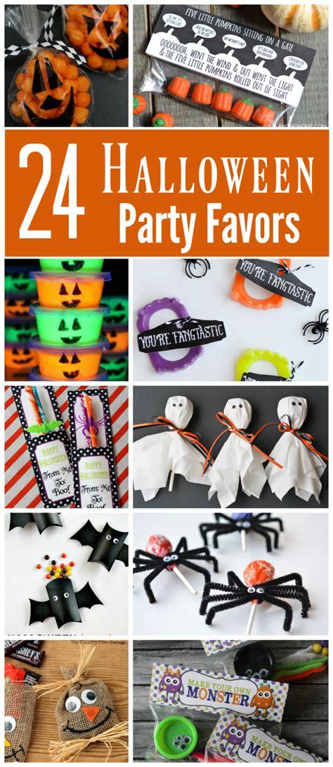 creative halloween party favors halloween school