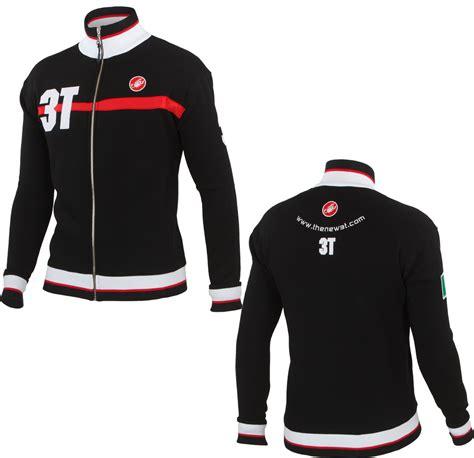 Jaket 3th Wiggle Castelli 3t Track Jacket Fleeces Hoodies