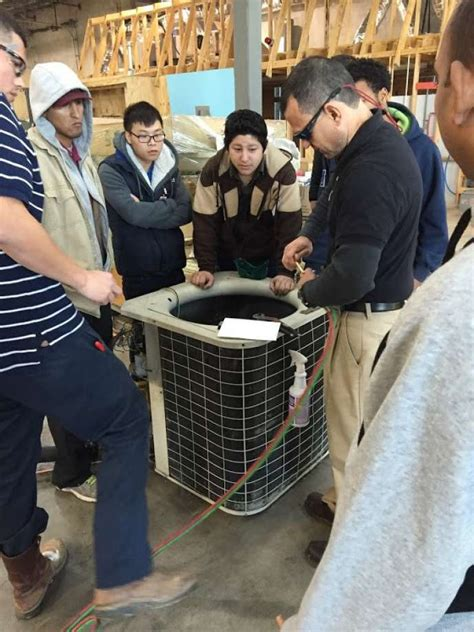 Plumbing Continuing Education Houston by Home Services Trains New Skilled Trade Worker