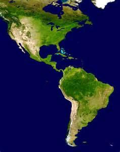 satellite map of america prof 186 valdinei andrade am 233 rica regionaliza 231 245 es