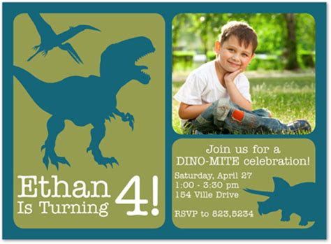 dinosaur birthday invitation card template dinosaur invitations theruntime