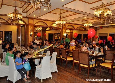 Function Rooms In Cebu Restaurants by Cebu Juggling Family Work Crafts Iway Diaries