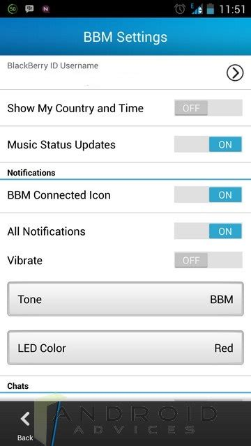 bbm android bbm for android app review features screenshots settings android advices