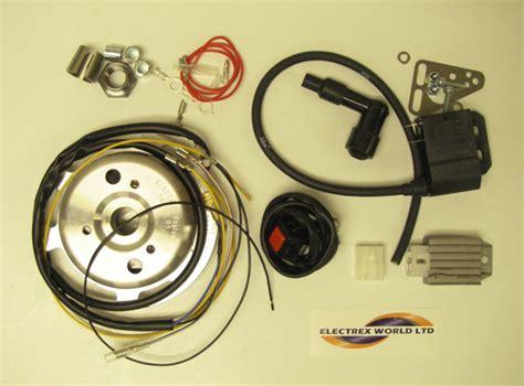 cdi lights electrex cdi ignition w lights unit singles