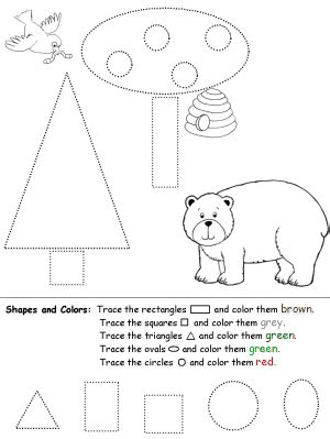 Shapes Recognition Practice
