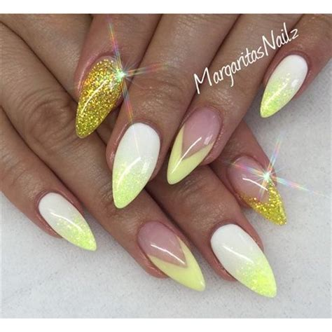 Nägel Gelb by Yellow Nails 2016 Nail Styling