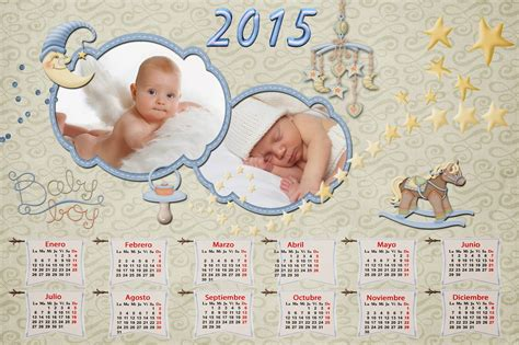 Calendario Bebe Calendarios Para Photoshop Calendario 2015 De Beb 233 S