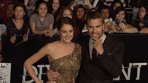 shailene woodley and theo james divergent world premiere
