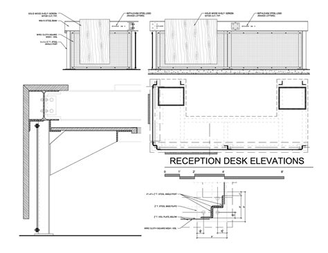 Reception Desk Design Plans Architecture Photography Reception Desk Plan 89778