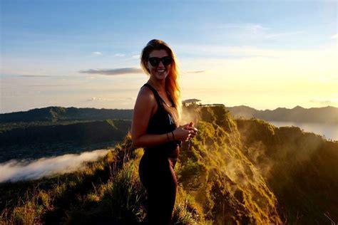 sunrise hiking  mount batur  bali travel   box