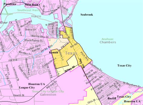 kemah texas map file kemahtxmap gif wikimedia commons