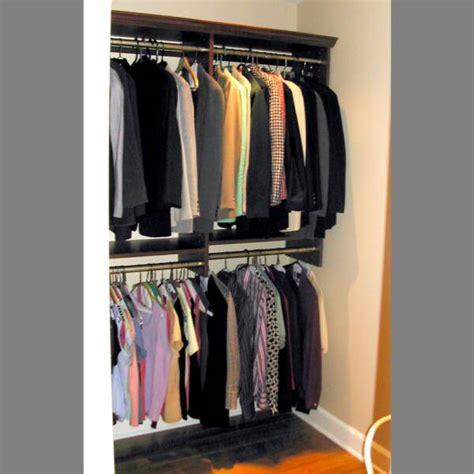 Closet Doubler Rod by Brilliant Hanging Closet Organizer Clubnoma Closet Rod Doubler Ideas