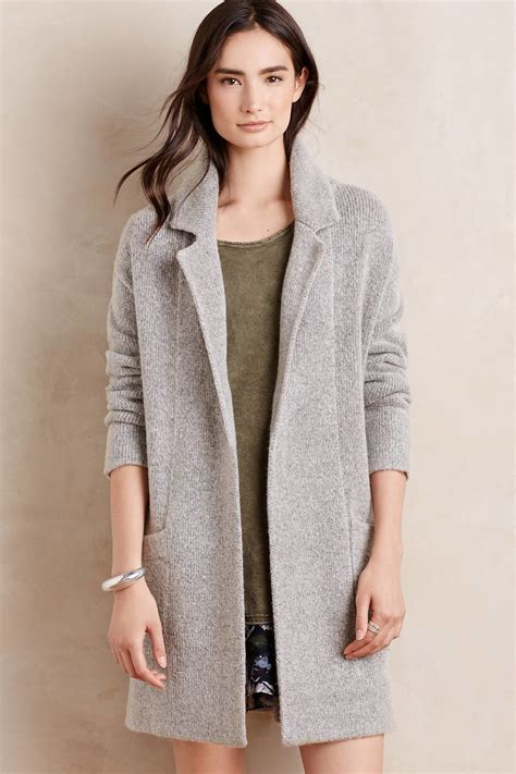 Sweater Hoodie Sweater Pria Outwear Jaket Sweater Fashion Pria sunday in derry sweater coat in gray lyst