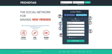 layout login sign up social media signup page flat design by ahsanpervaiz on