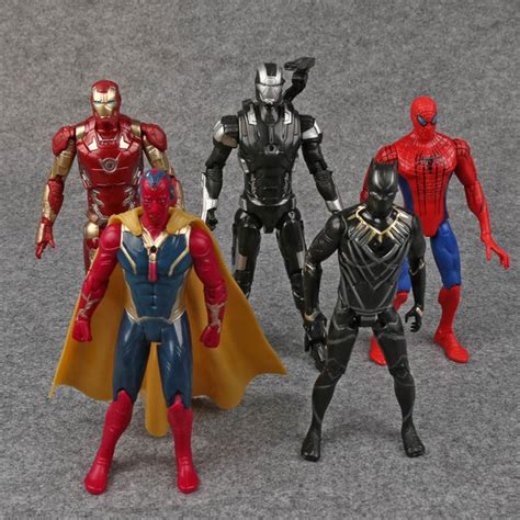 Figure Civil War 5pcs Captain Americaironmanavengermarvelsuperhero 1 aliexpress buy captain america 3 civil war iron
