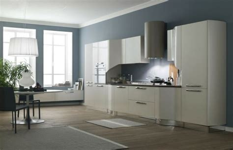 colores de pintura para cocinas cocinas pintadas con los colores de moda 50 ideas