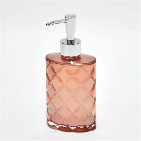 rose gold bathroom accessories rose gold diamond pattern bathroom accessory set buy